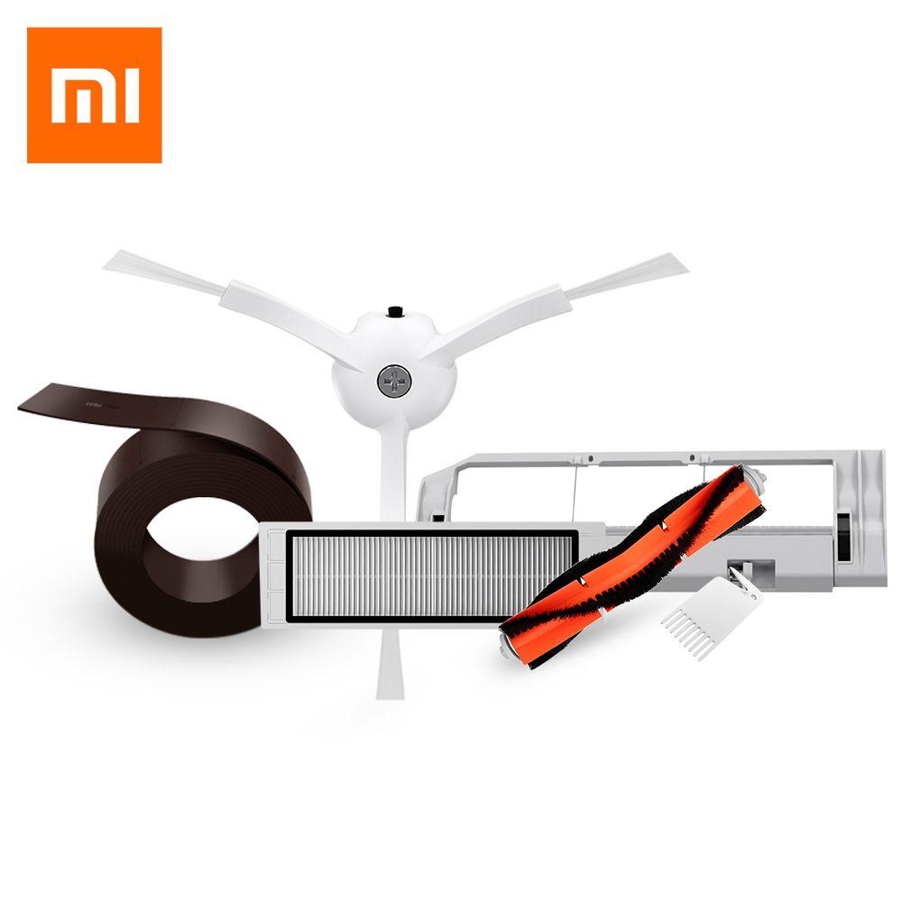 Original Economic Set of 5PCS Xiaomi Mi <font><b>Robot</b></font> Vacuum Smart Cleaner Accessories Invisible Wall Side Brushes Filter Rolling Bush