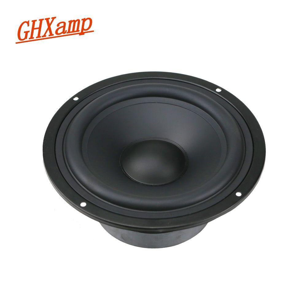 GHXAMP 6,5 zoll Woofer Bass Mitten Lautsprecher Einheiten HIFI Desktop PA Lautsprecher Heimkino Lautsprecher 8ohm 130 watt 1 stücke