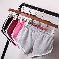 Летние уличные повседневные женские короткие брюки женские универсальные свободные прочный мягкий хлопок повседневные женские стрейч шор...