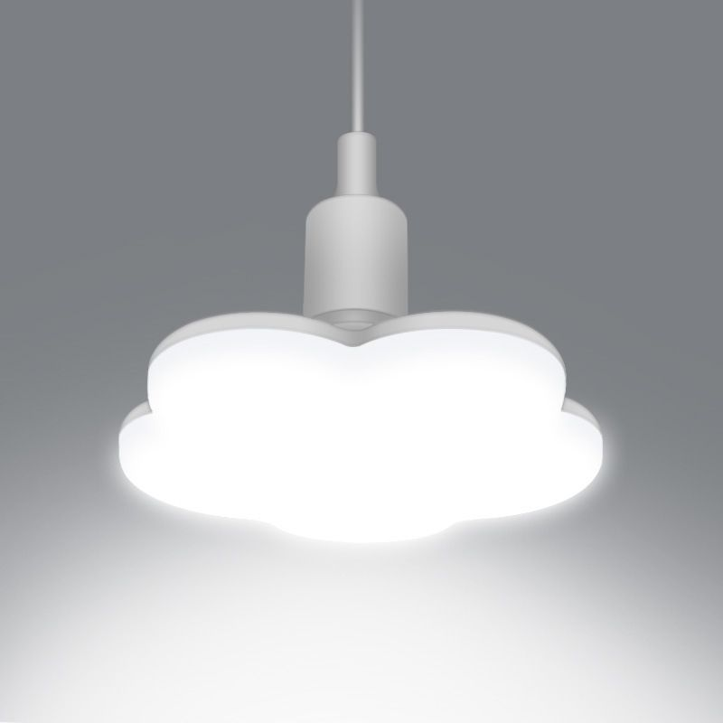 E27 LED Bulb Plum Blossom Shape Light Downlight Lamp 15W 18W 24W 36W Super Bright e27 Ceiling Lights For Living Room Bedroom