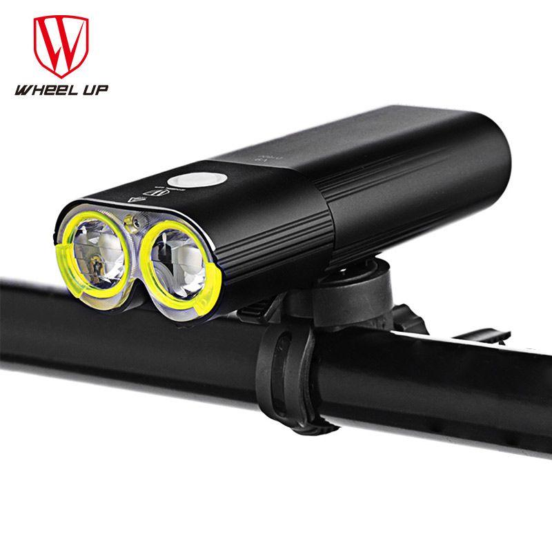 RAD UP Bike Licht Professionelle 1600 Lumen Fahrrad Licht Power Bank Wasserdichte USB Aufladbare Bike Taschenlampe Radfahren licht