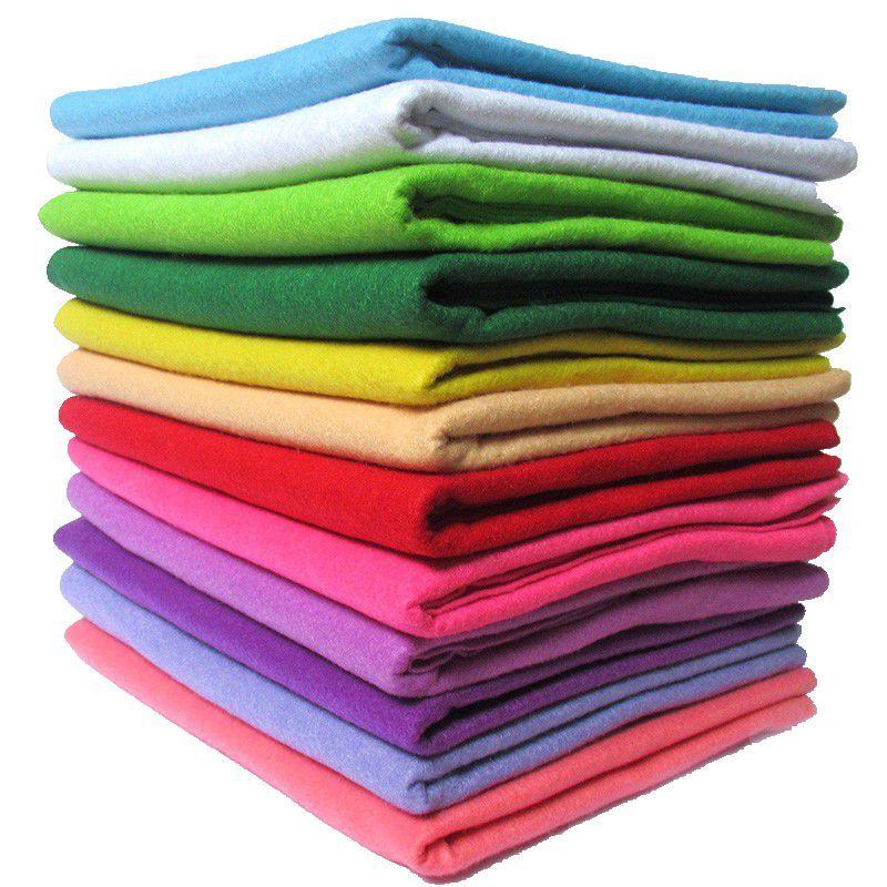 90X92 CM peut choisir la couleur feutre doux 1.5mm épais feutre bricolage tissu fait à la main Non-tissé feutre artisanat doux plaine tissu 1 feuille