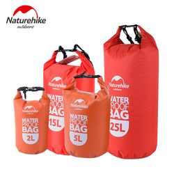 Naturehike Ultralight Swimming Bag Dry 4 Colors Outdoor Nylon Kayaking Storage Drifting Waterproof Rafting Bag 2L 5L 15L 25L