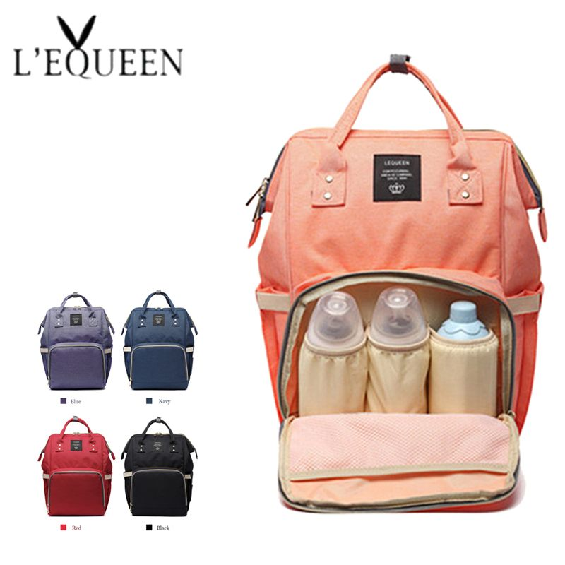 Mode momie maternité Nappy sac marque grande capacité bébé sac voyage sac à dos Designer sac d'allaitement pour les soins de bébé!