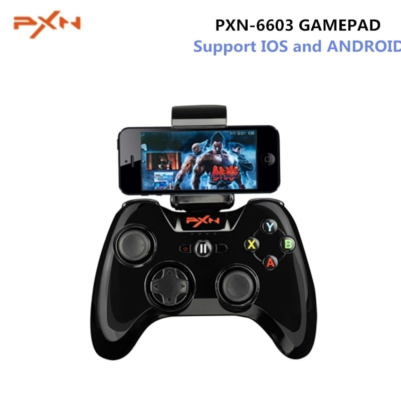 PXN-6603 MFi Gamepad Handheld Game Console Certified Speedy Wireless Bluetooth Game Controller Portable Joystick Vibration Hand