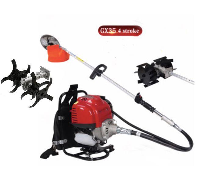 Gx35 Rucksack 4 hub 3 in1 Pinsel cutter pinne gras hedge trimmer grubber weeder