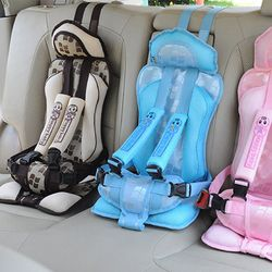Nueva 1-5 años coche portátil Seguridad asiento de coche niños 25 kg sillas de coche para niños niños asiento de coche arnés