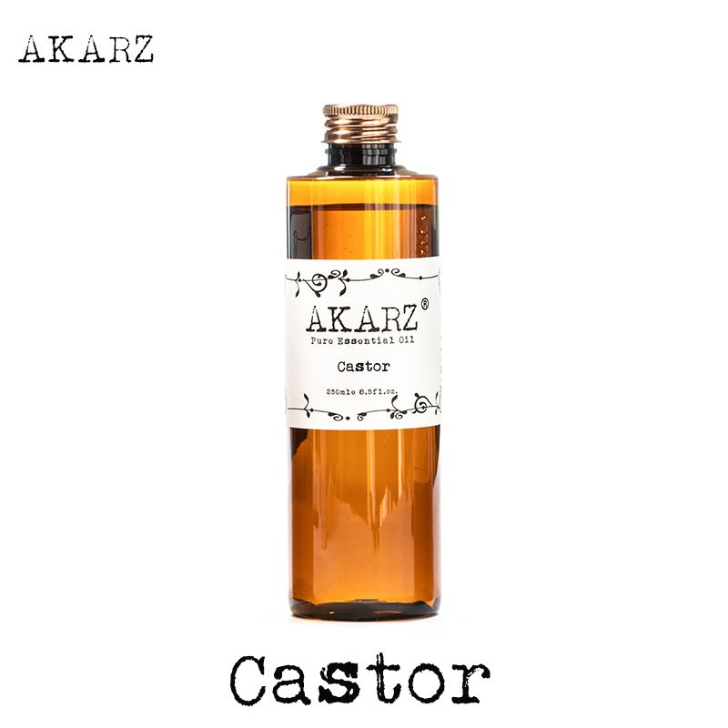AKARZ Célèbre marque huile de ricin naturel aromathérapie haute-capacité de la peau soins du corps massage spa ricin huile essentielle