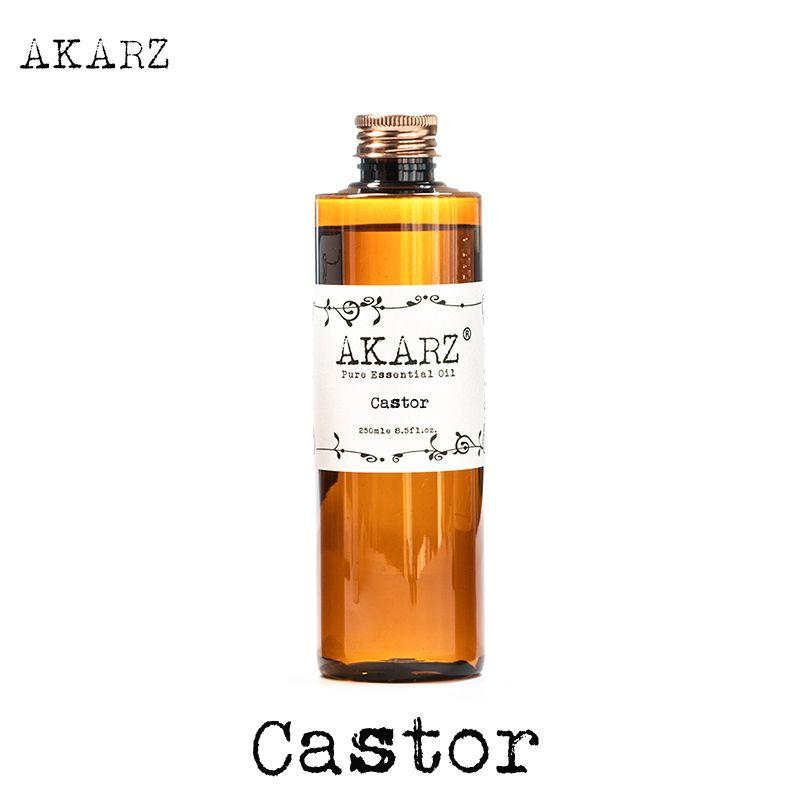 AKARZ célèbre marque huile de ricin naturel aromathérapie haute capacité peau soins du corps massage spa huile essentielle de ricin