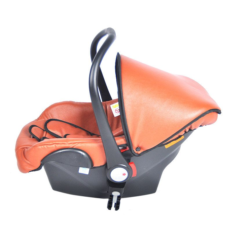 Автокресло для новорожденных 3 точки Страховочные ремни автомобиля корзина для 0-12 месяцев ребенок Колыбели для новорожденных может быть ко...