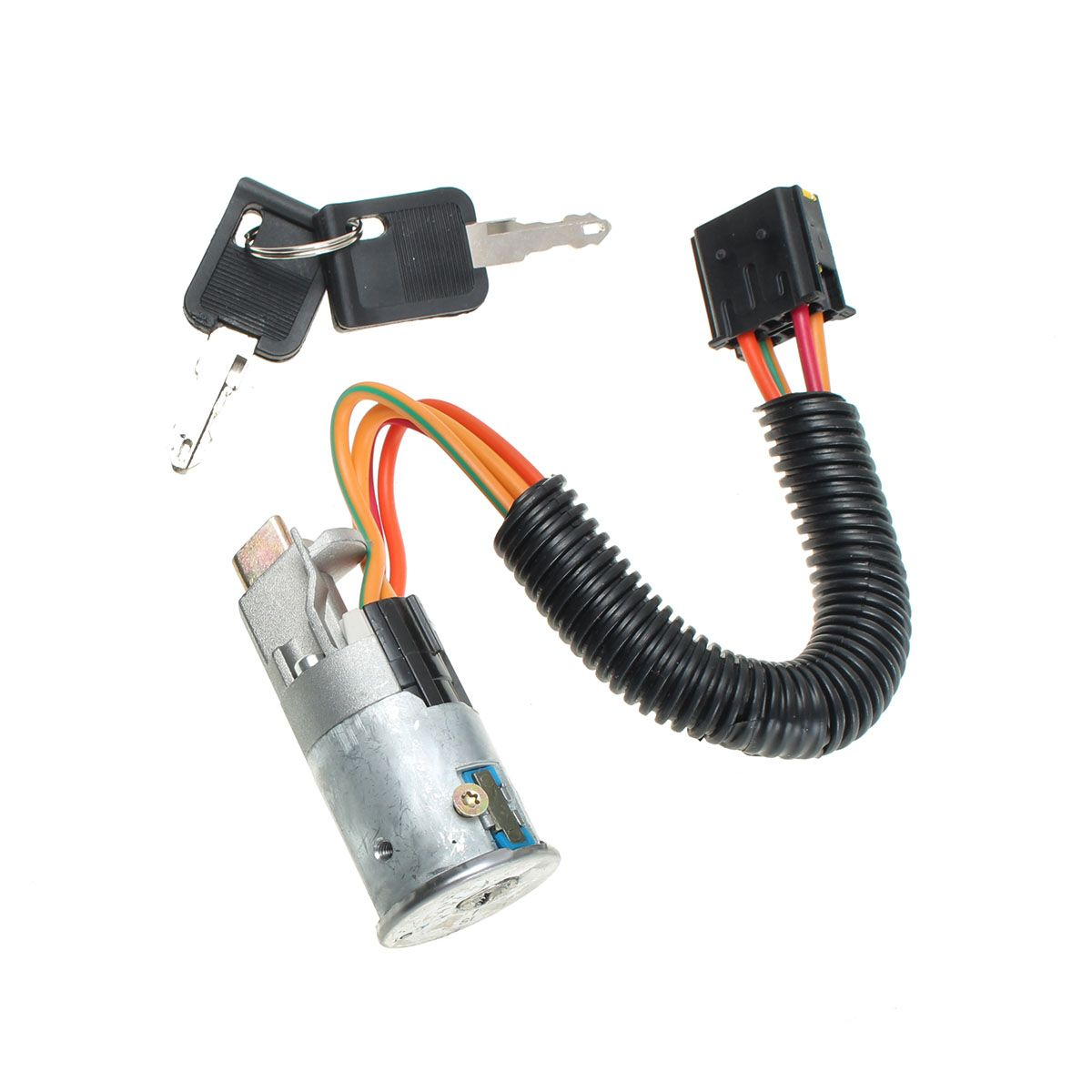 New Ignition Lock Switch Barrel + 2 Keys For RENAULT 1998-2005 /CLIO /MK2 /MEGANE /SCENIC