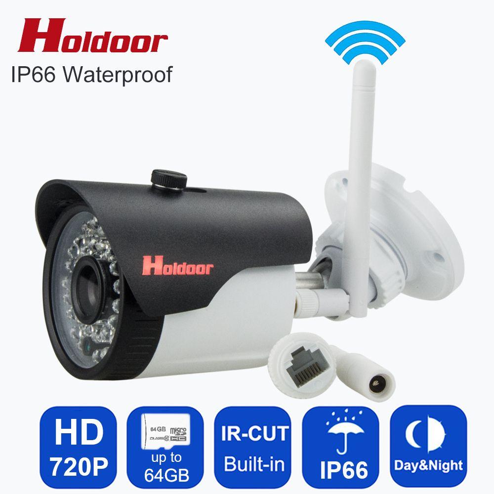 Holdoor Web Caméra HD ip caméra vidéo wifi plus petite Caméra sans fil mini CCTV cam avec micro sd slot pour carte mémoire Motion Sensor