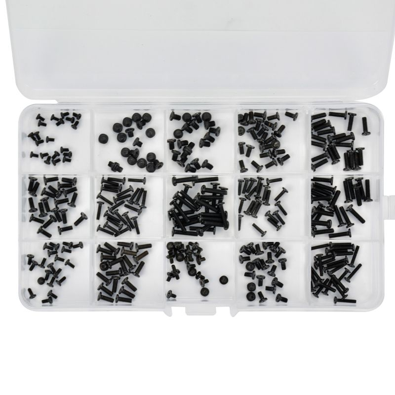 300Pcs New Laptop Screws With Box for DELL The tablet screw Flat head