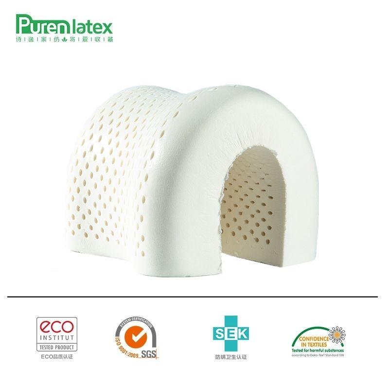 PurenLatex 60x40 Thaïlande Pur oreiller en latex naturel Soins de Santé Cou pour le Cou Colonne Vertébrale De Protection oreiller en latex Oreiller Orthopédique