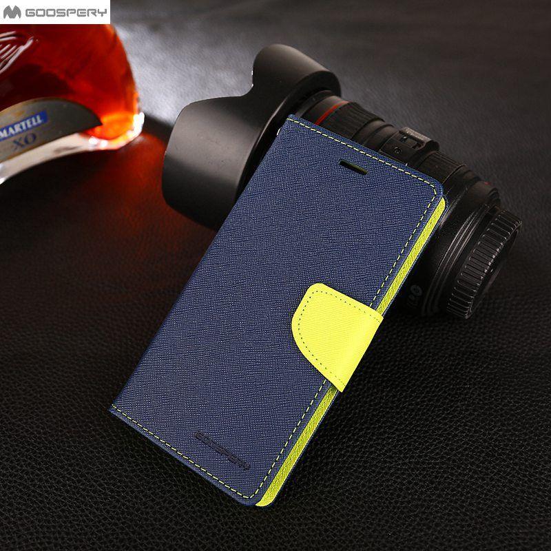For Xiaomi Redmi Note 4 4X case Original Goospery Flip PU Leather Wallet Holster Case For Xiaomi Redmi 5 Plus Phone Bags Cases