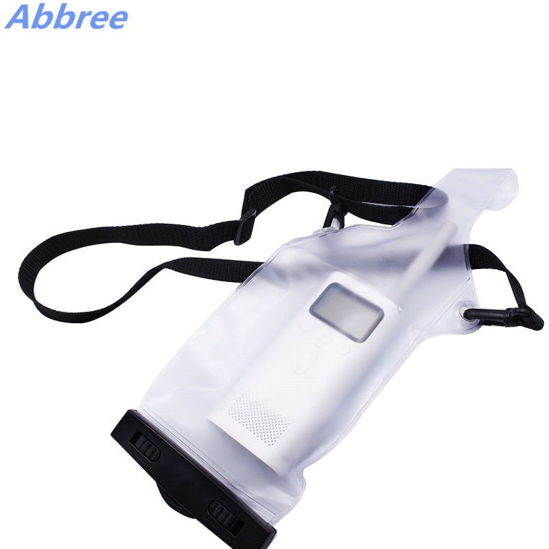 Abbree Waterproof Walkie Talkie Case Universal for Two-way Radio Baofeng GT-3 UV-5R BF-888S UVB2 8HX TYT Wouxun KG-UVD1P S780