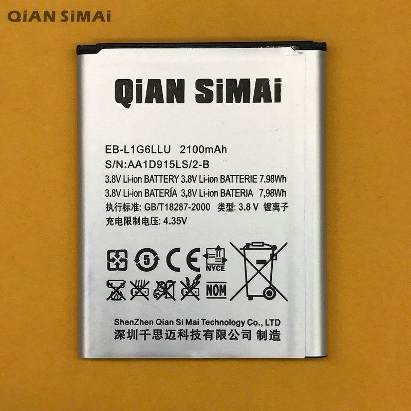 QiAN SiMAi i9300 EB-L1G6LLU EB L1G6LLU Battery For Samsung S3 SIII GT-I9300 I9300 I747 T999 L710 I535