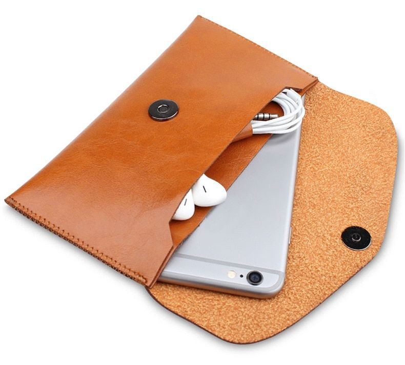 Microfiber Leather Sleeve Pouch Bag Phone Case Cover Wallet For Samsung Galaxy S8 G9500 / J3 Prime / Amp Prime 2