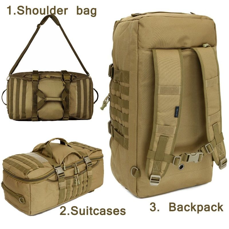 Outdoor Military bag Army Tactical backpack Molle waterproof camouflage Rucksack pack hunting Sports Hiking camping shoulder bag