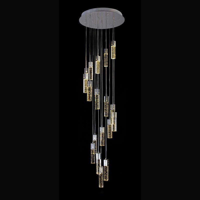 Industrielle Pendelleuchte treppen Küche Pendelleuchte Hängenden Lampe LED Pendelleuchte Treppen Spirale Pendelleuchte Innen