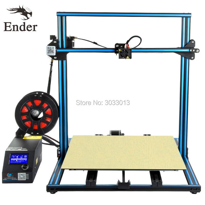 2018 einfach Bauen CR-10 5 S 3D Drucker großdruck Größe 500*500*500mm mit Filamente + brutstätte + 8G sd-karte + Werkzeuge als geschenk Creality 3D