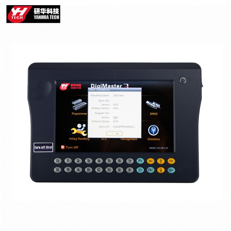 Yanhua Digimaster 3 Odometer Correction Master No Token Limitation Update Online Get CAS4+ Software Free