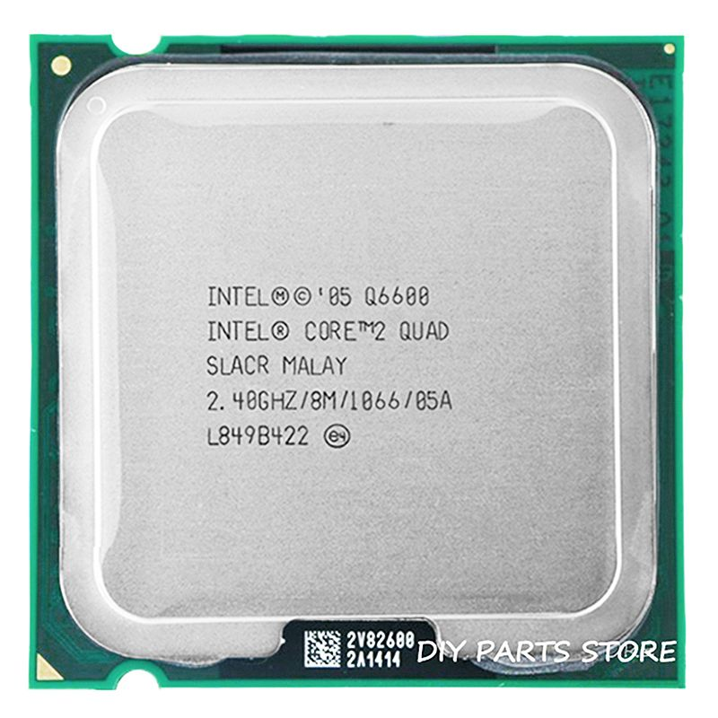 4 core INTEL Core 2 QUAD Q6600 Socket LGA 775 CPU Processor 2.4Ghz/8 M /1066MHz)