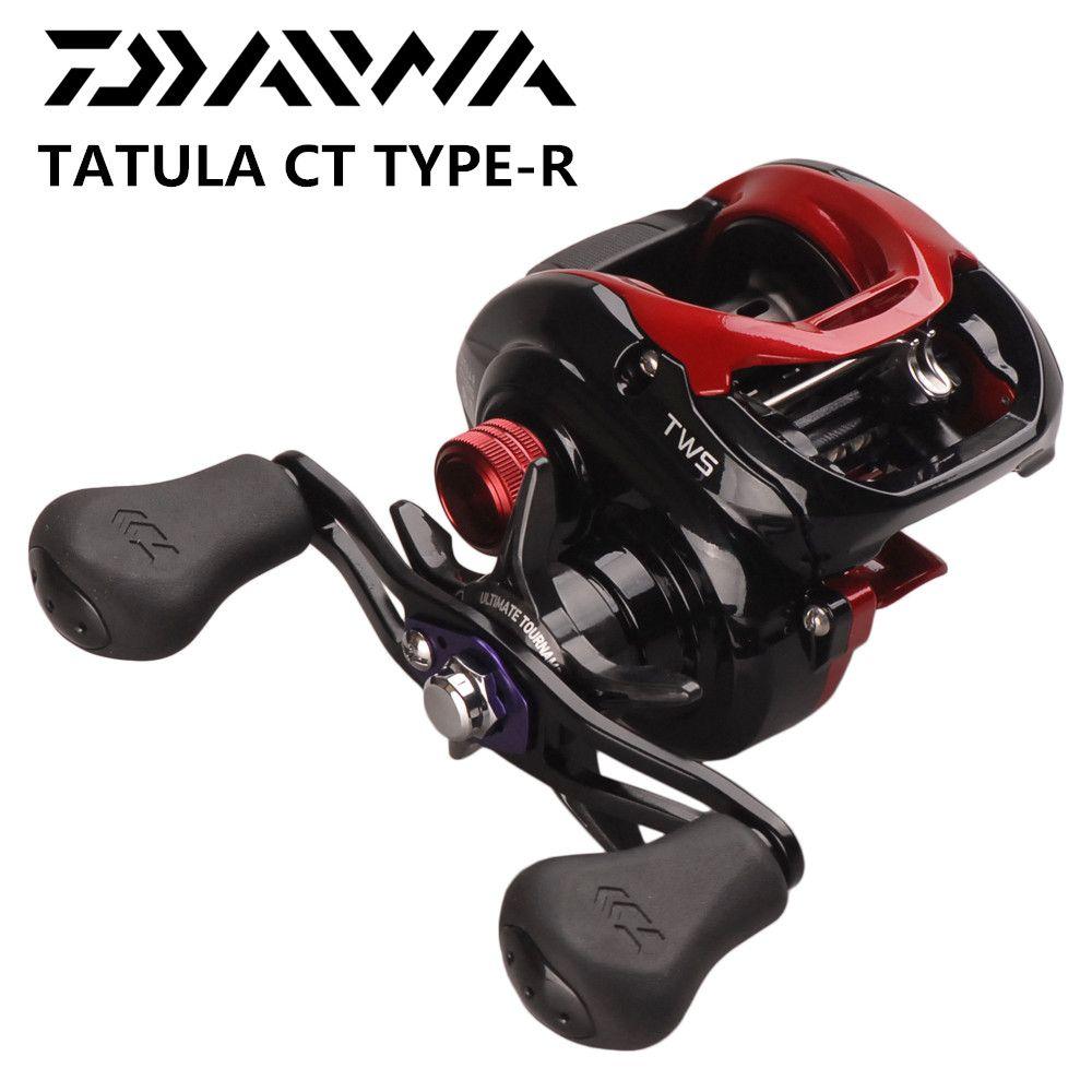 Original DAIWA TATULA CT TYPE-R 100HS 100HSL 100XS 100XSL 7.3:1/8.1:1 Baitcasting Fishing Reel 8BB TWS Round Coil Pesca