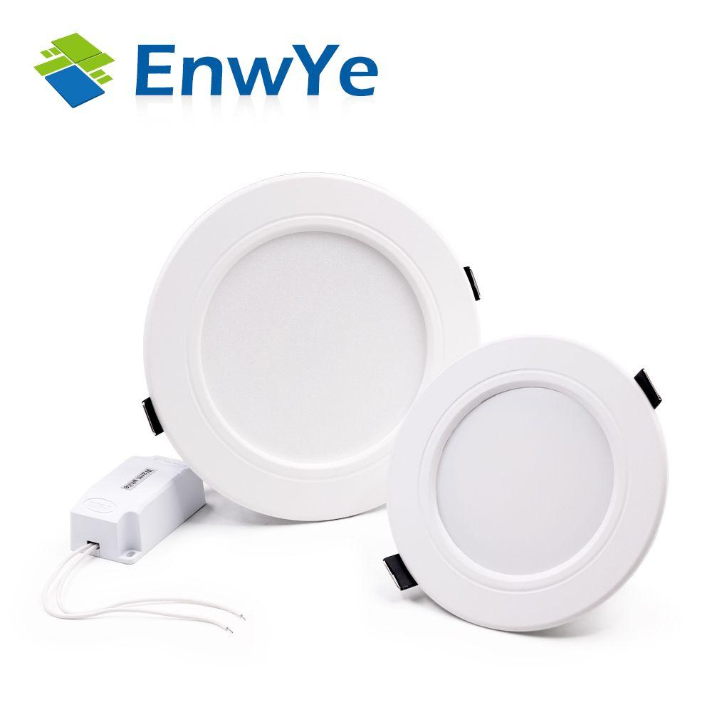 EnwYe Weiß high power led-downlights deckenleuchte 5730SMD 10 Watt 15 Watt 20 Watt 110 v 220 V 230 V 240 V AC IC led lampe led-licht