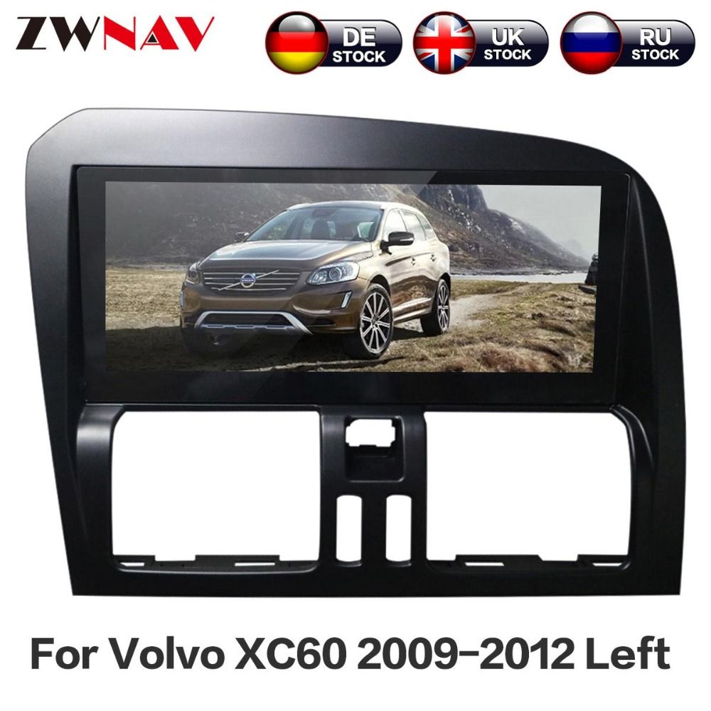 ZWNAV Android 6.0 Systen Auto DVD Player Für Volvo XC60 2009 2010 2011 2012 Links Lenkrad Auto GPS Multimedia Navigation