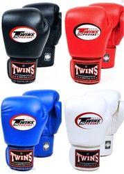 8 10 12 14 unze twins handschuhe kick boxhandschuhe leder PU Sanda Sandsack Training Schwarz Boxhandschuhe Männer Frauen Guantes Muay Thai