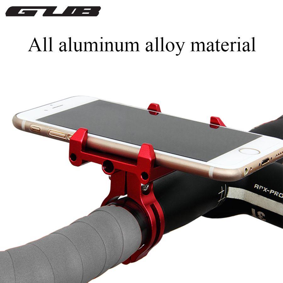 CNC en métal intelligent GUB G-86 vélo poignée de vélo support de téléphone support de berceau étui moto guidon pour téléphone portable GPS