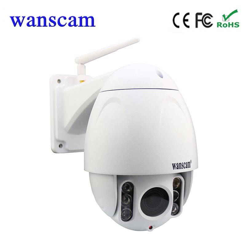 hot Wanscam HW0045 5*optical time zoom 1080P outdoor PTZ dome wifi camera 2MP support 128G TF cards
