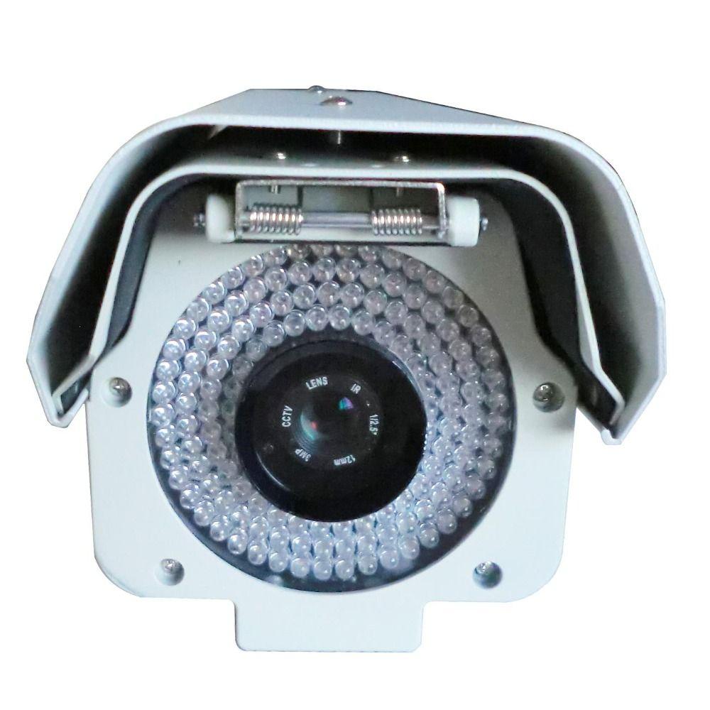 5.0Megpixels Lens 2.0MP 1080P Vechile License Plate Recognition Camera Megapixel ANPR LPR IP Camera with 12mm lens for Highway