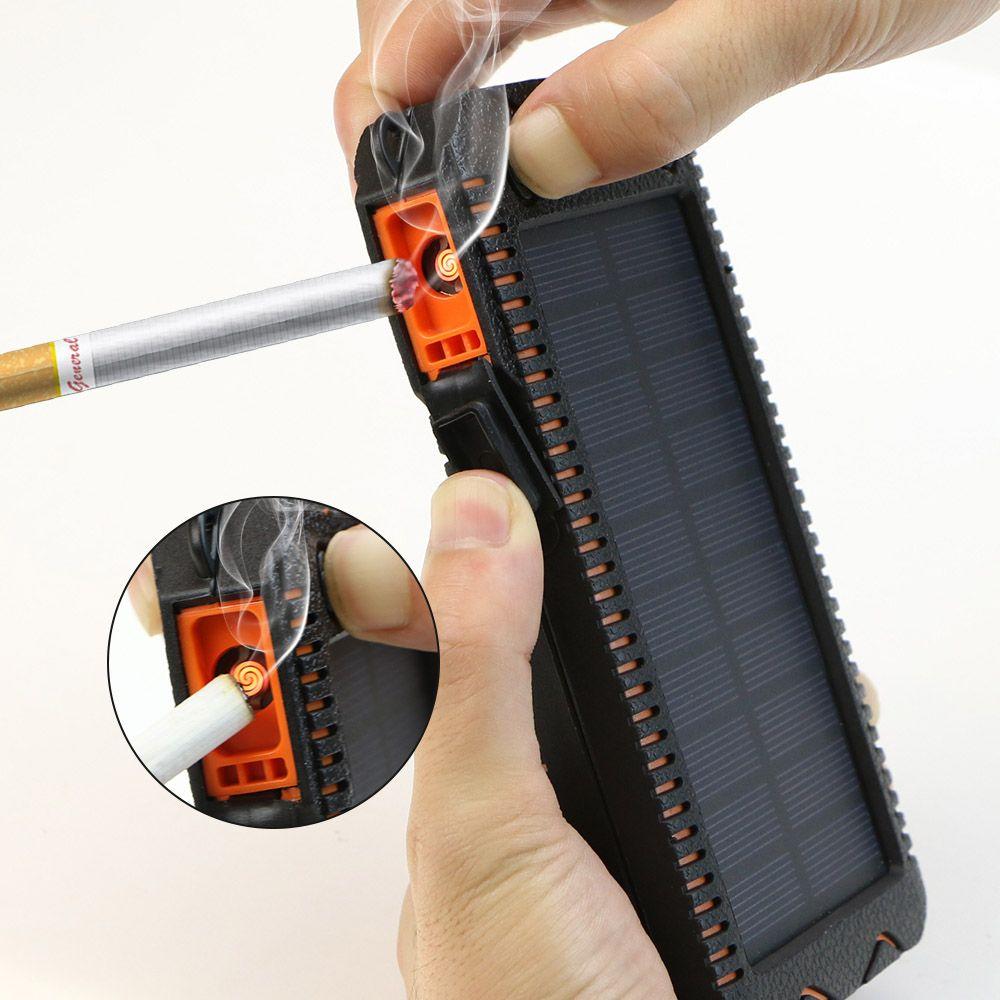 X-DRAGON 15000 mAh batterie externe Solaire batterie externe Power chargeur pour iphone Samsung Huawei Smartphones Xiaomi Extérieur Camping