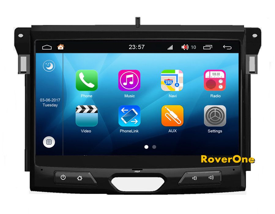 RoverOne Android 8.0 Car Multimedia System For Ford Ranger Everest 2015 2016 2017 Radio Stereo DVD GPS Navigation Media Player
