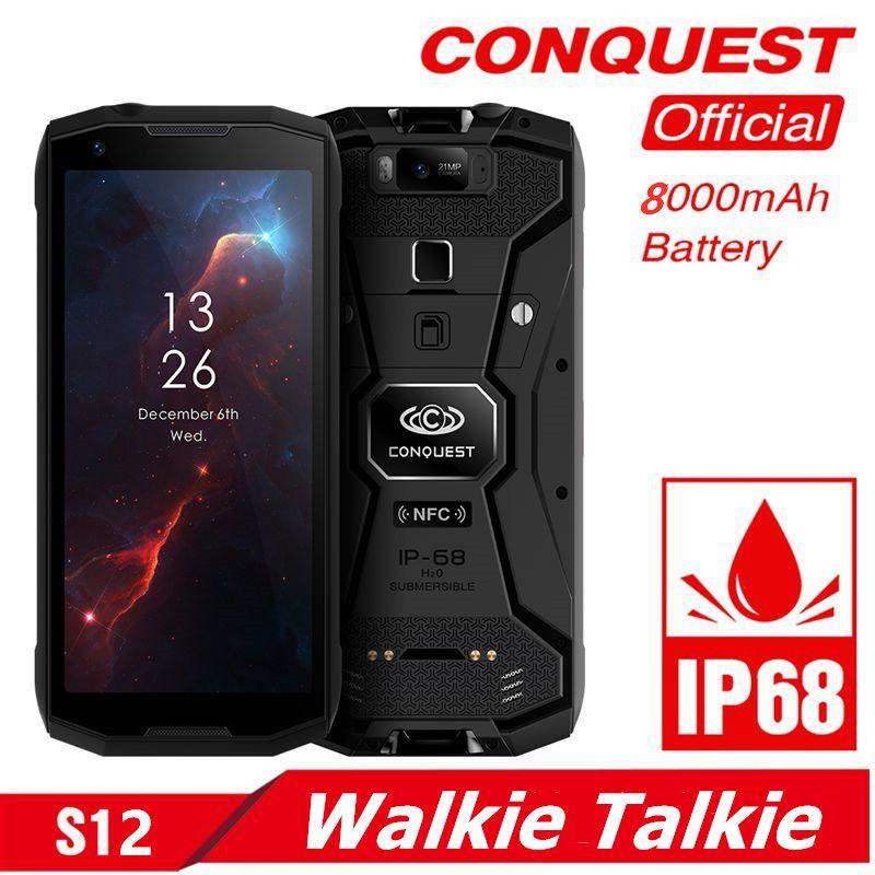 Eroberung S12 Robuste Smartphone 5,99