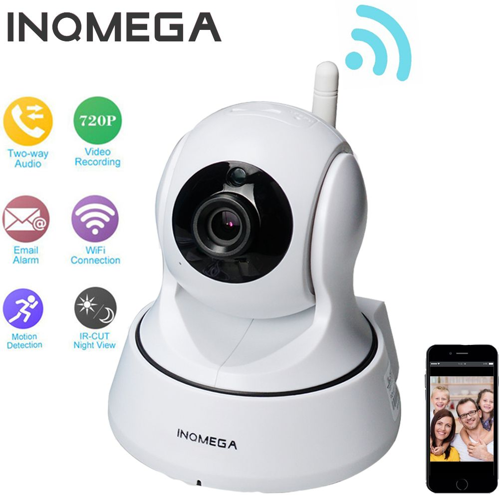 INQMEGA  720P/1080P IP Camera Home Security Wireless WiFi Camera Surveillance CCTV Camera Night Vision Smart Home Baby Monitor