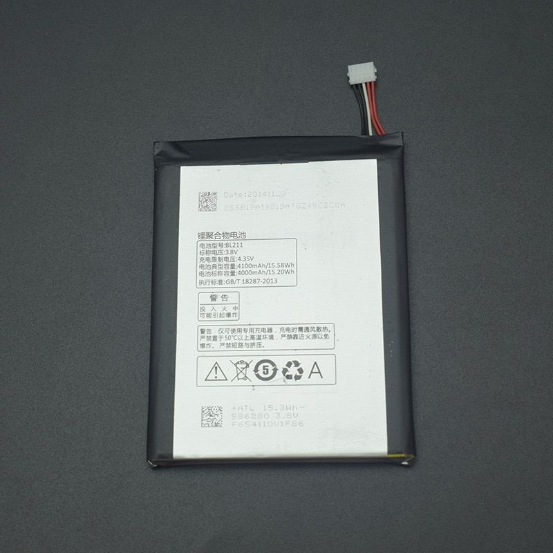 For Lenovo P780 Battery Replacement BL211 Large Capacity 4000mah Li-on Battery For Lenovo P780 Mobile Cell Phone