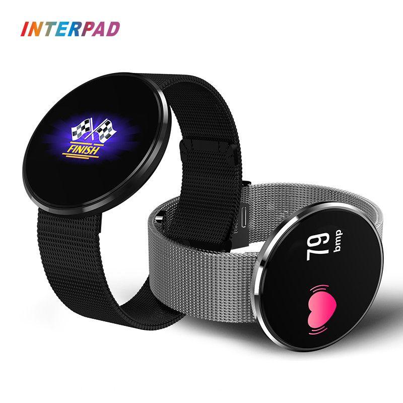 Interpad Bluetooth Sport Smart Watch IP68 Waterproof Heart <font><b>Rate</b></font> Monitor Smartwatch Sleep Monitor Support Remote Camera