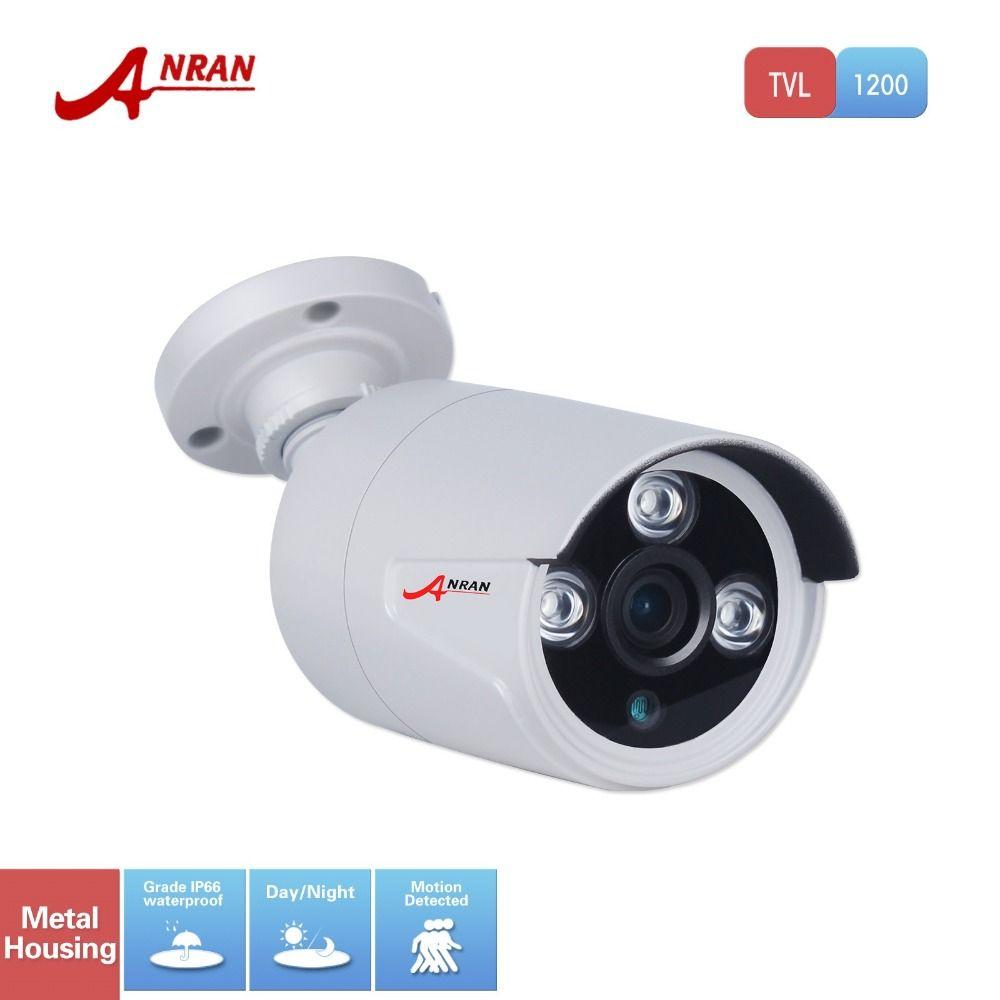 Anran видеонаблюдения HD 1200tvl Sony CMOS Массив 3 ИК Открытый Ночное Видение видеонаблюдения Широкий формат Водонепроницаемый Камера с ИК-