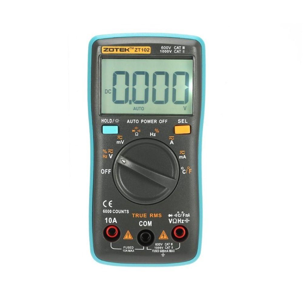 Digital Multimeter Multimetro esr Transistor Tester Digital RM Mastech uni multi Meter Meter Sanwa Multimetre