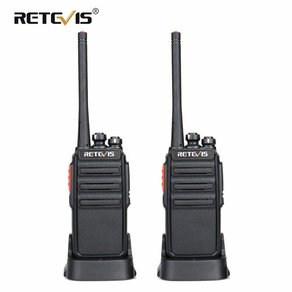 2pcs Retevis RT24 PMR Walkie Talkie License-free 0.5W 16CH UHF 446 PMR446 Scrambler VOX Handheld Two Way Radio Hf Transceiver