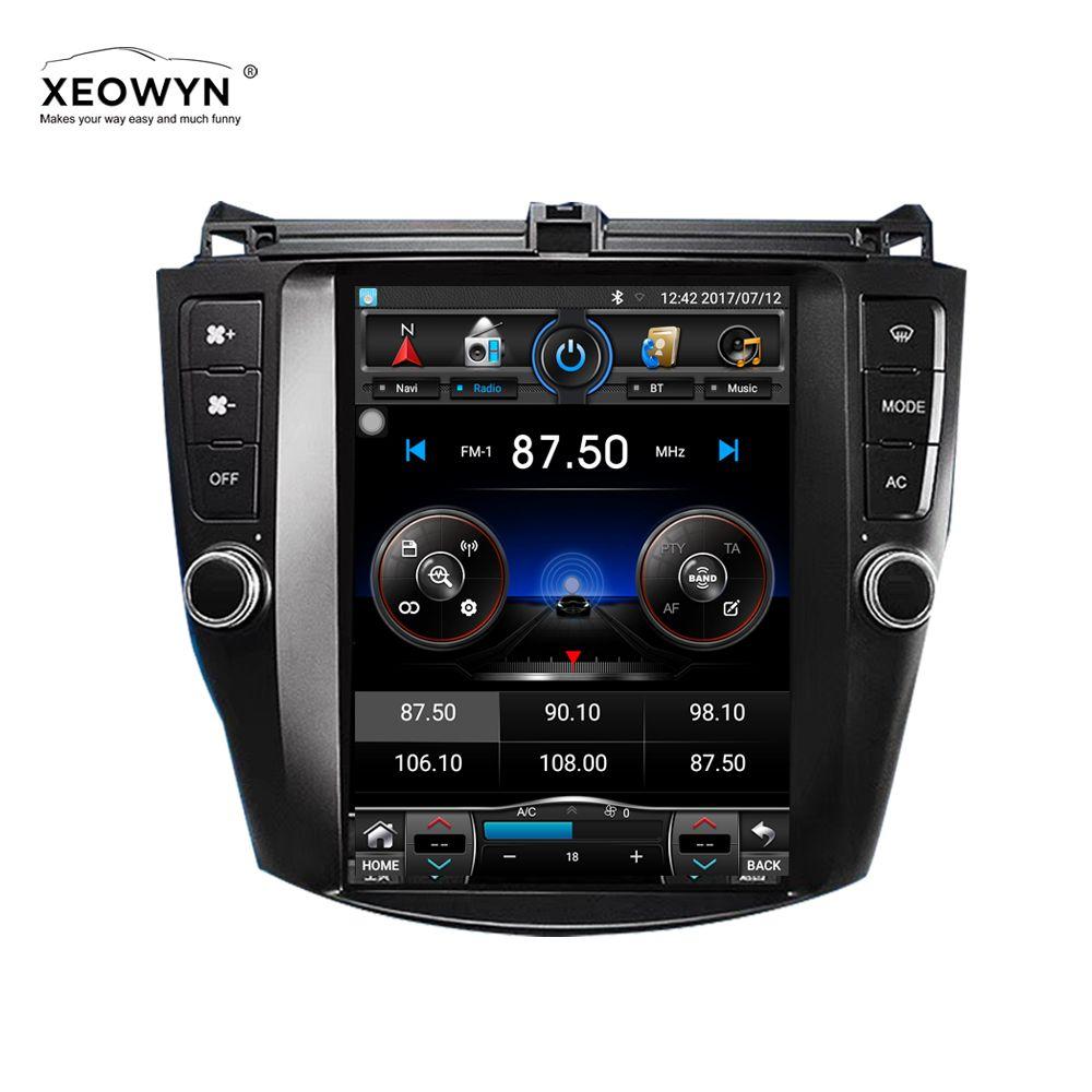 Android 6.0 1024*600 Quad core 10,1 Auto radio GPS Navigation für HONDA Accord 7 2003-2007
