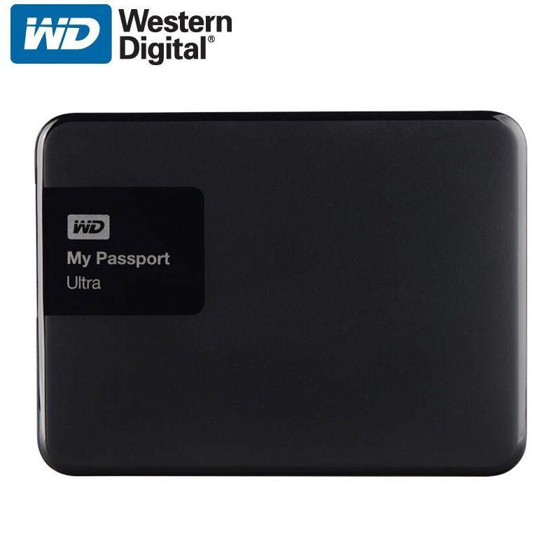 WD My Passport Ultra Disque Dur Externe Disque HD 1 TB haute Capacité SATA USB 3.0 Dispositif De Stockage D'origine pour Ordinateur ordinateur portable