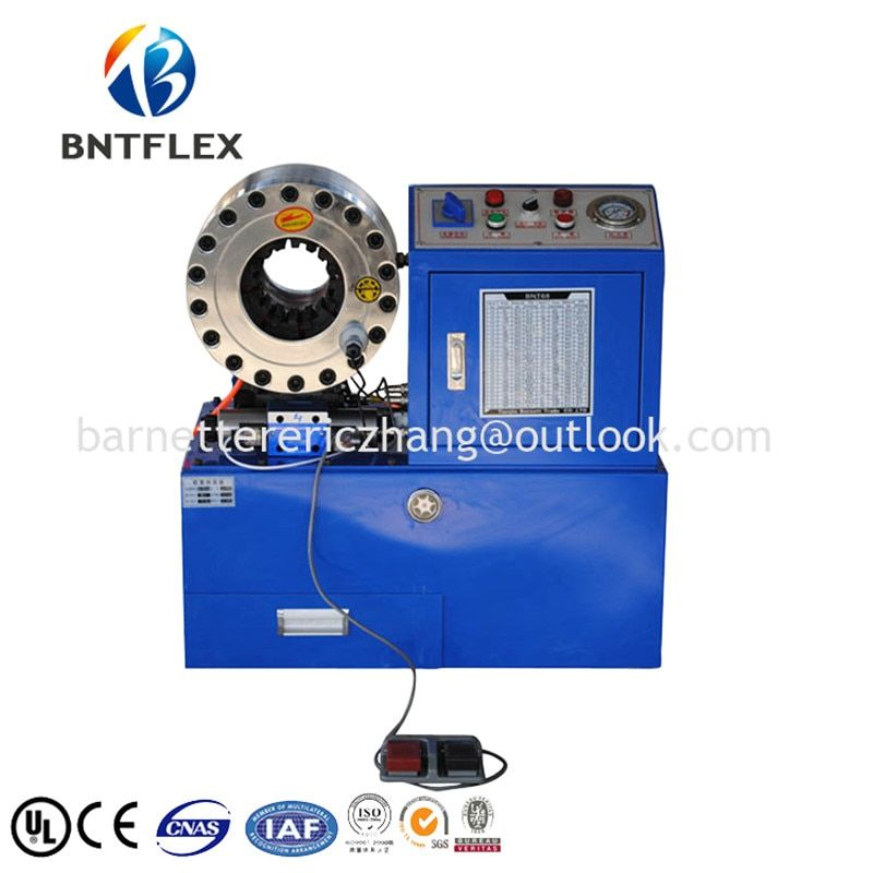 Hot new products for 2018! hydraulic high pressure metal hose crimping machine/pipe crimper for hydraulic hose fitting