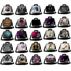 print 10 13 13.3 14 15 15.6 17 17.3 Inch Laptop sleeve Notebook Bag Case Messenger Shoulder Laptop Bag for ipad macbook ALL-SS