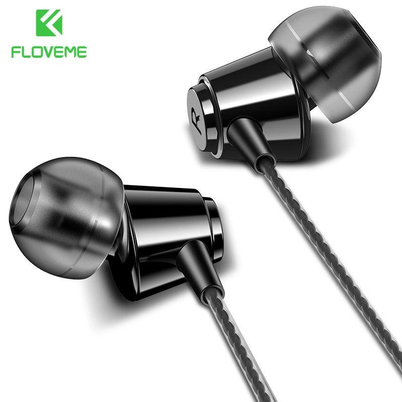 FLOVEME In-ohr Kopfhörer Für iPhone HIFI Stereo Verdrahtet Ohrhörer Für Xiaomi Kopfhörer Für Computer Bass 3,5mm 1,2 mt Mit mikrofon
