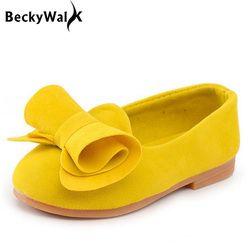 Permen Warna Anak Sepatu Gadis Putri Sepatu Fashion Musim Semi Musim Panas Anak Perempuan Sandal 1-10 Tahun Anak-anak Sepatu busur CSH016