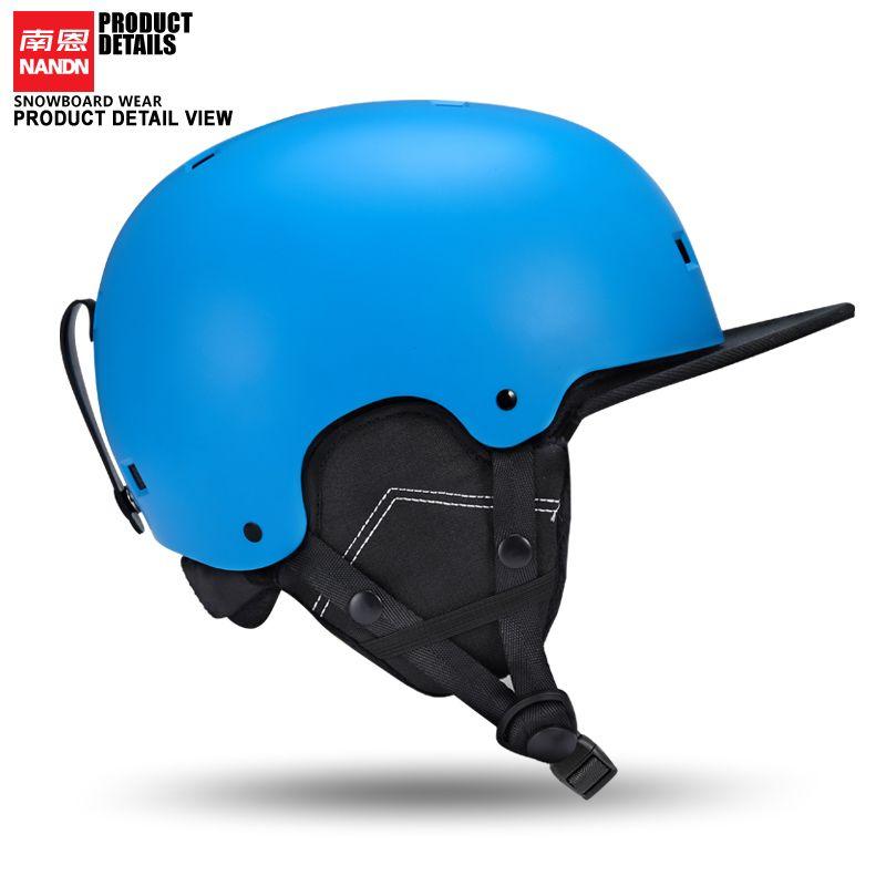 Новый nandn лыж шлем сверхлегкий и интегрального под давлением Профессиональный сноуборд шлем мужчины катания/скейтборд шлем multi Цвет